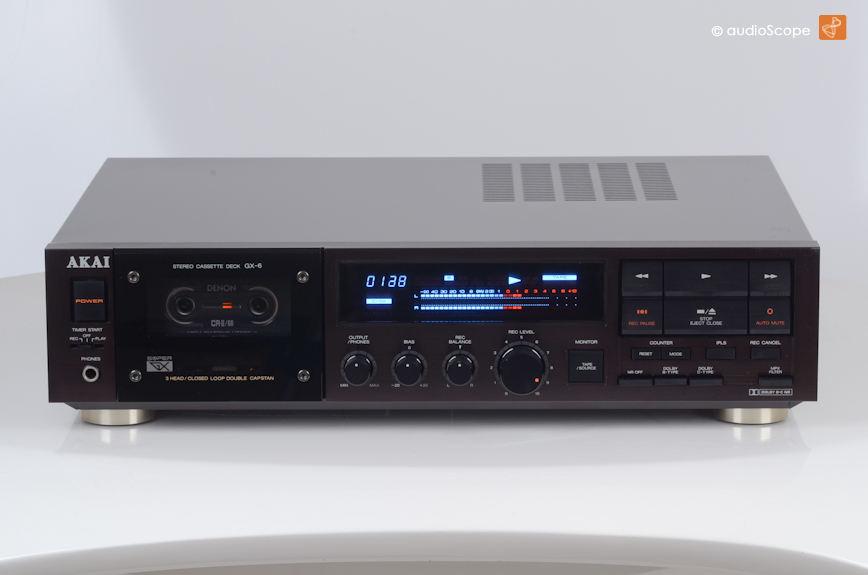 Akai GX-6 - 3 Head Cassette Deck for sale.