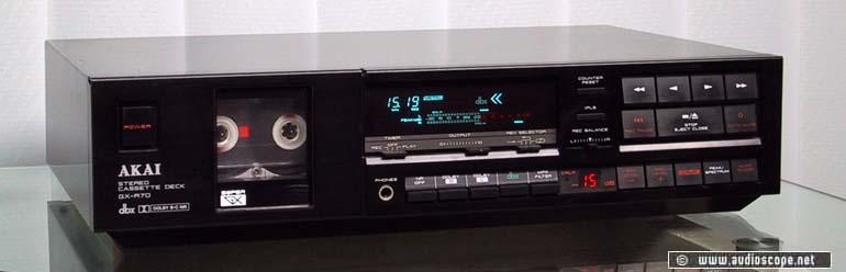 Akai Cassette Recorder GX-R70 for sale.