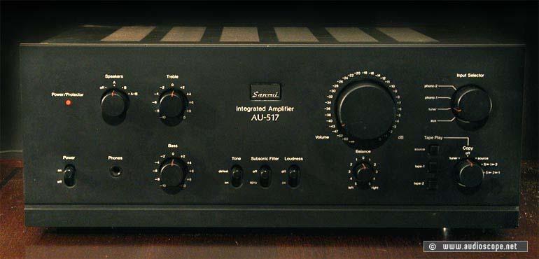 Sansui Amplifier AU-517 for sale.