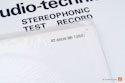 Audio Technica AT-6606 Stereophonic Test Record - NOS