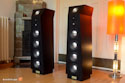 Backes & Müller BM20 active speaker, black ash vaneer