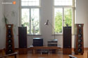 Backes & Müller BM20 active speaker with rosewood vaneer