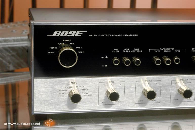 Bose Audio >> Bose 4401 Quadro Pre Amplifier for sale.