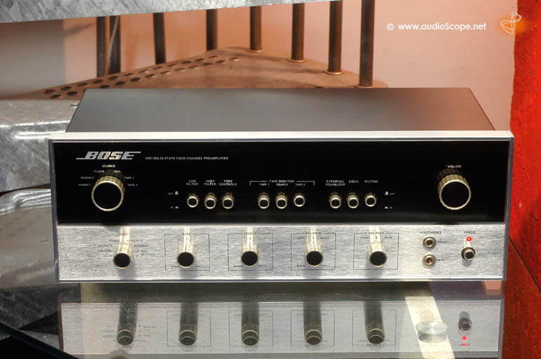 Bose 4401 Quadro Pre Amplifier for sale.