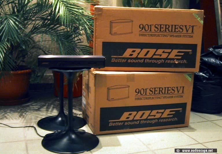 bose 901 series vi. bose 901 series vi, controller, stands, mint in box vi