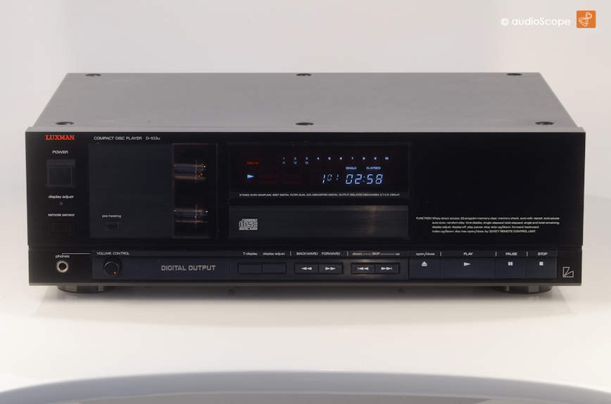 Luxman D 103u Tube Cd Player For Sale