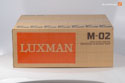 Luxman M-02 as new