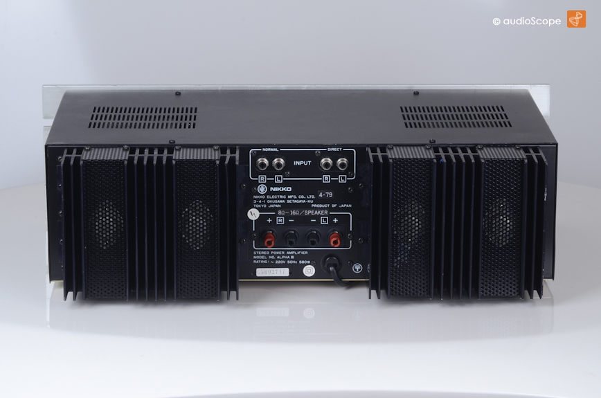 Nikko Alpha III MOS-FET Power Amplifier