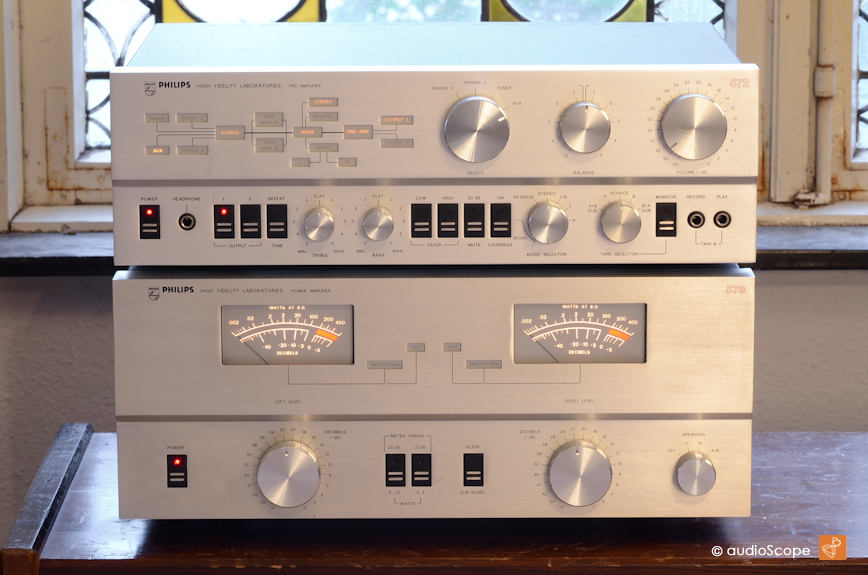 Philips Laboratory Series 572 Amp 578 For Sale