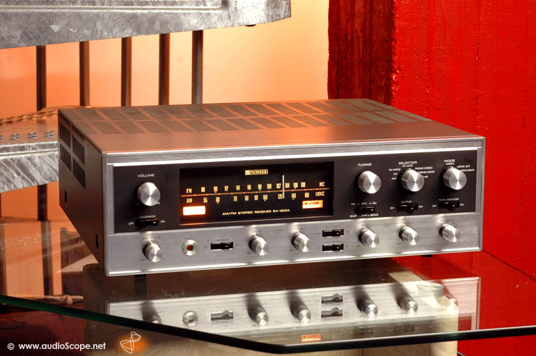 pioneer tube receiver sx 800a for sale. Black Bedroom Furniture Sets. Home Design Ideas
