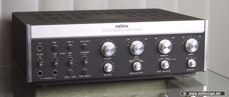 revox b 750 mk2 amplifier. Black Bedroom Furniture Sets. Home Design Ideas