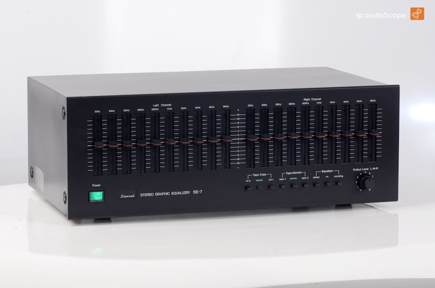 sansui se 7 equalizer for sale audioscope