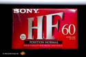 Sony HF 60 min. Compact Cassette