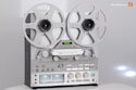 TEAC X-2000R in silver, as new