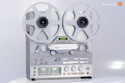 Teac X-2000, silver, original box