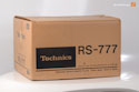 Technics RS-777, as new with box