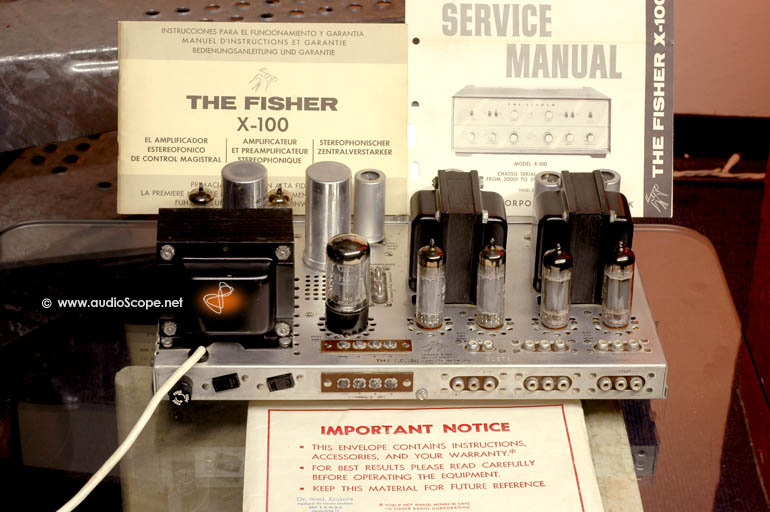 The Fisher Tube Amplifier