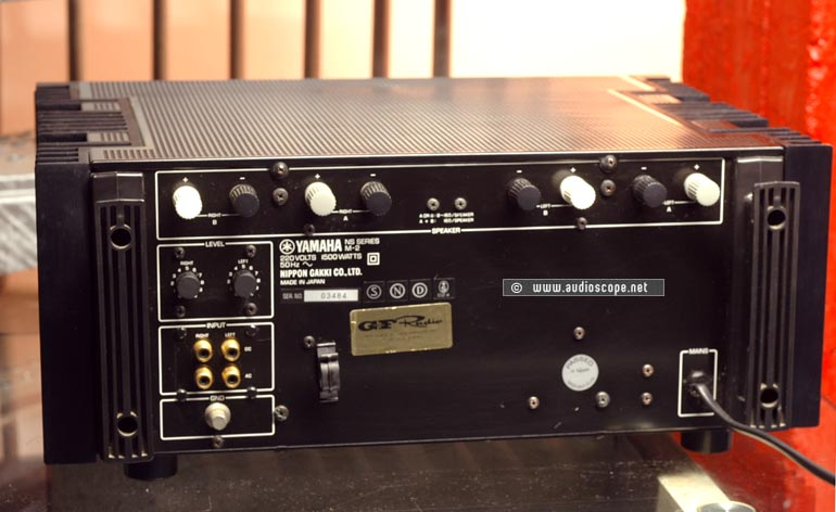 Yamaha Mint P 909 on teac audio amplifier