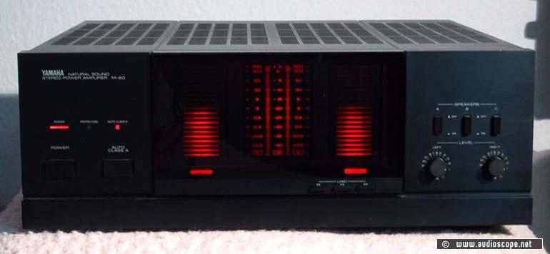 yamaha power amp m 60 for sale. Black Bedroom Furniture Sets. Home Design Ideas