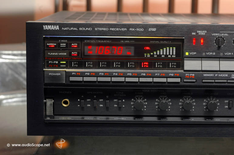 Pioneer Av Receiver >> Yamaha RX-1100, Top of the Line AV-Receiver for sale.
